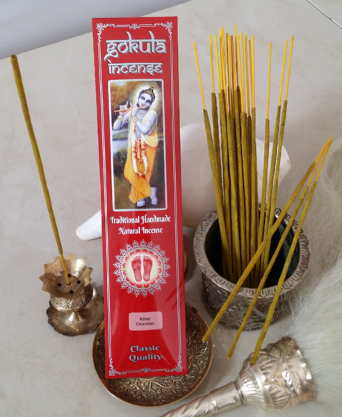 Kesar Chandan Incense Sticks - 20 grams